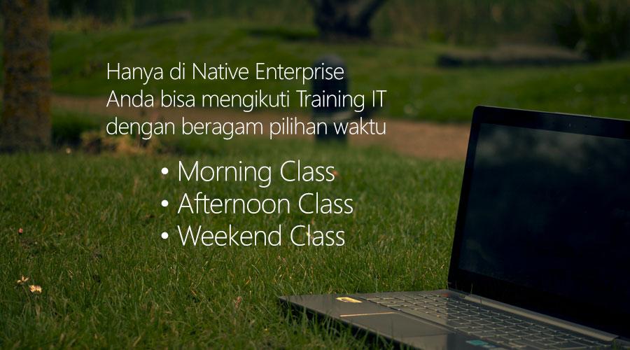 Native Enterprise   Training dan Pelatihan IT Professional