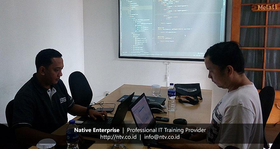 "Training ""Mobile Application Development using Android"" bersama GRC Board"