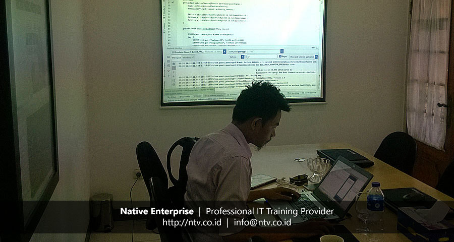 "Training ""Mobile Application Development using Android"" bersama Pupuk Sriwidjaja Palembang"