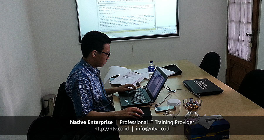"Training ""SQL Server Database Administration"" bersama PT Lotus Lingga Pratama"