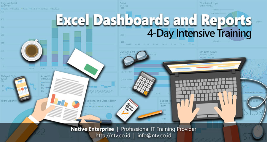 Training dan Pelatihan Excel Dashboards and Reports