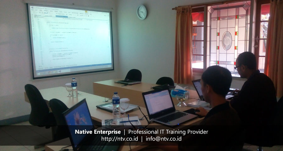 "Training ""Developing Web Application using ASP.NET MVC"" bersama PT Chandra Asri Petrochemical"