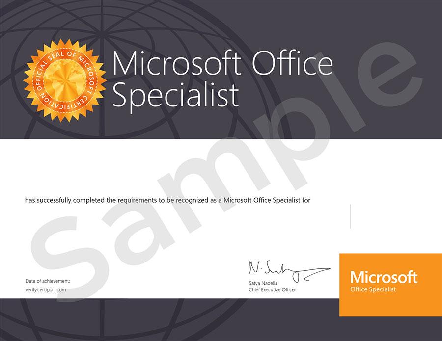 Training dan Pelatihan MOS (Microsoft Office Specialist)