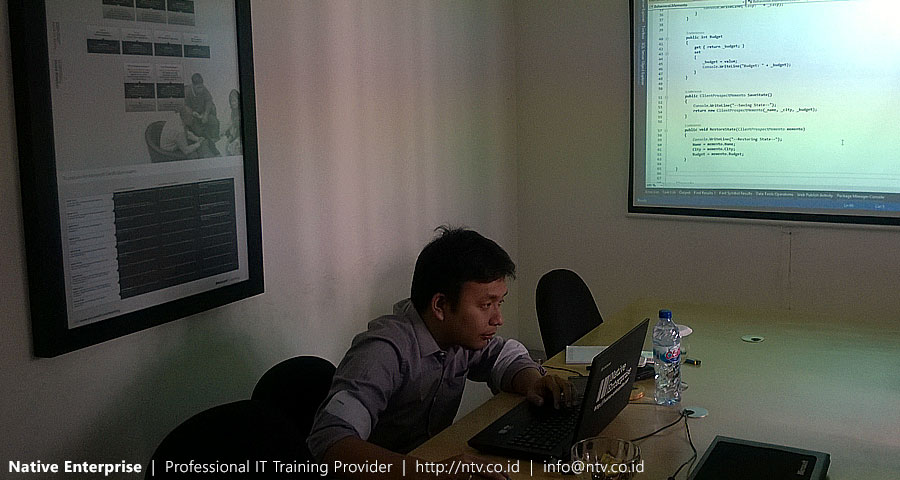 "Training "".NET Language Design Patterns"" bersama BNI Life Insurance"
