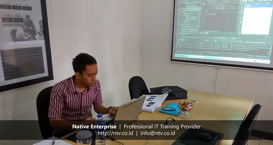 "Training ""Android App Development"" bersama Krakatau Bandar Samudera"