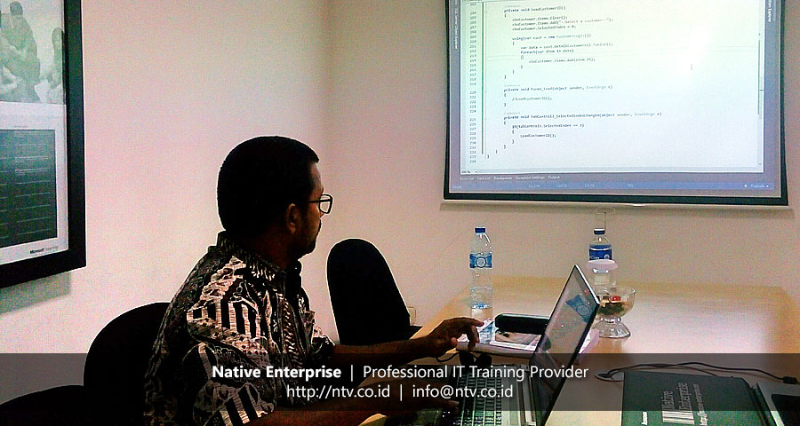 "Weekend Training ""Data Access Programming using Entity Framework"" bersama PT Trimurti Eka Valutama"