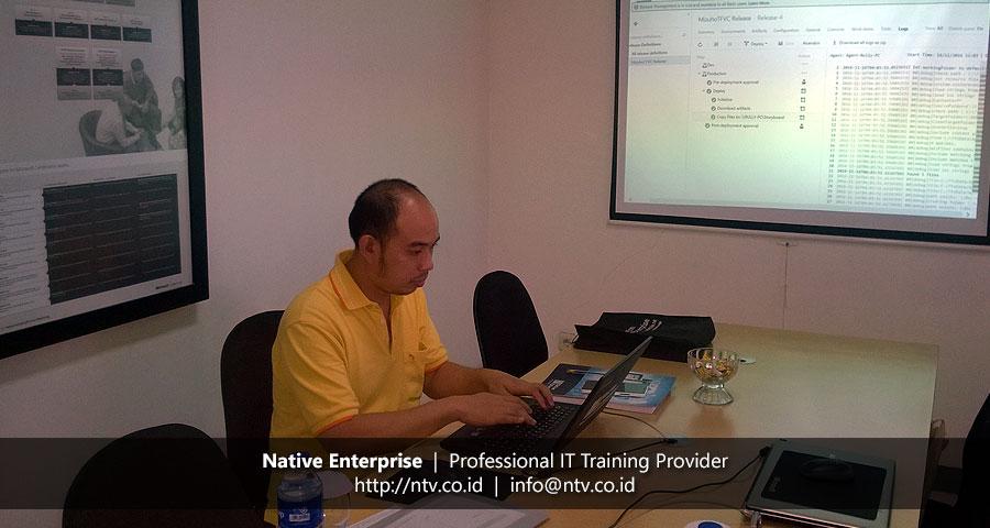 "Training ""Team Foundation Server"" bersama Bank Mizuho"
