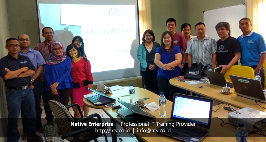 "In-House Training ""Excel for Business Users"" bersama Picanol Indonesia"