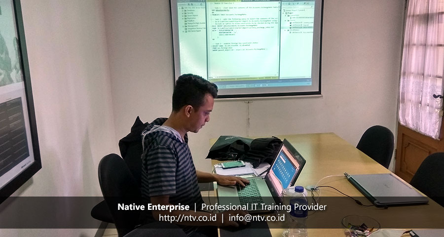 Training SQL Server Database Administrator bersama PGN-LNG Indonesia