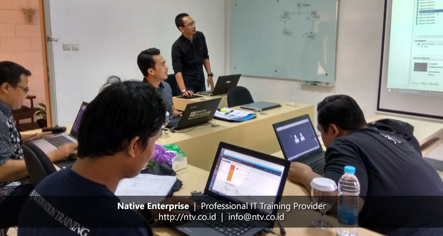 Training Windows Server Fundamentals bersama Disdukcapil Kota Tanggerang