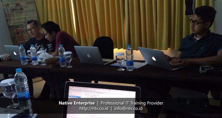 "Training ""Mac OS X Application Development using Swift"" bersama Lembaga Sandi Negara"