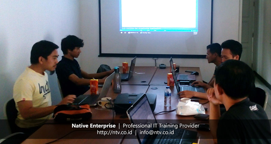 In-House Training Developing Web App using ASP.NET MVC bersama Torche Indonesia