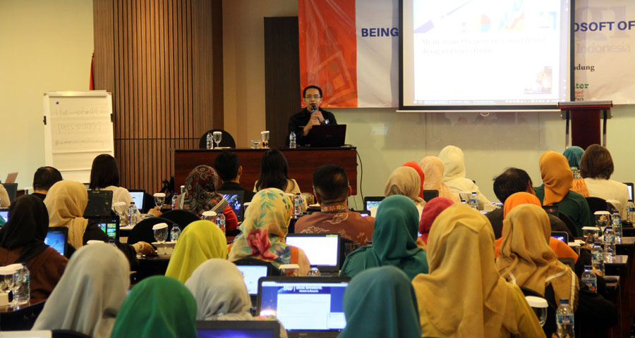 One Day Workshop Being Professional with Microsoft Office