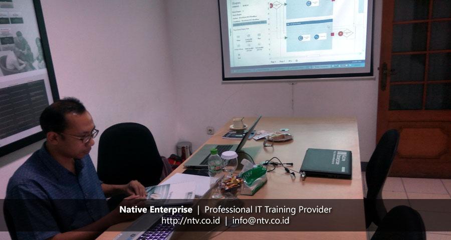 Training SharePoint Workflow Development bersama South Pacific Viscose