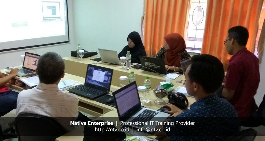 Training Android Mobile App Development bersama UIN Syarif Hidayatullah Jakarta