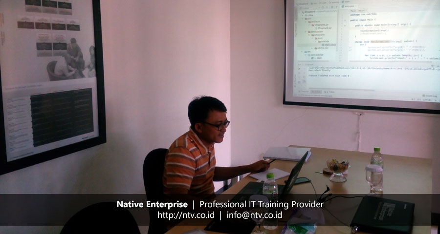 "Training ""Java Programming Fundamental"" bersama Asuransi Bangun Askrida"