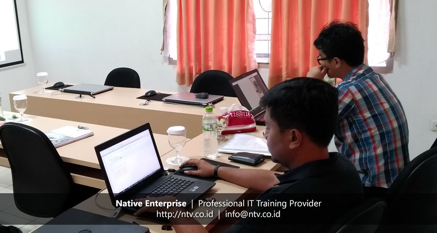 "Training ""Web Application Development using PHP and jQuery AJAX"" bersama Krakatau Posco"