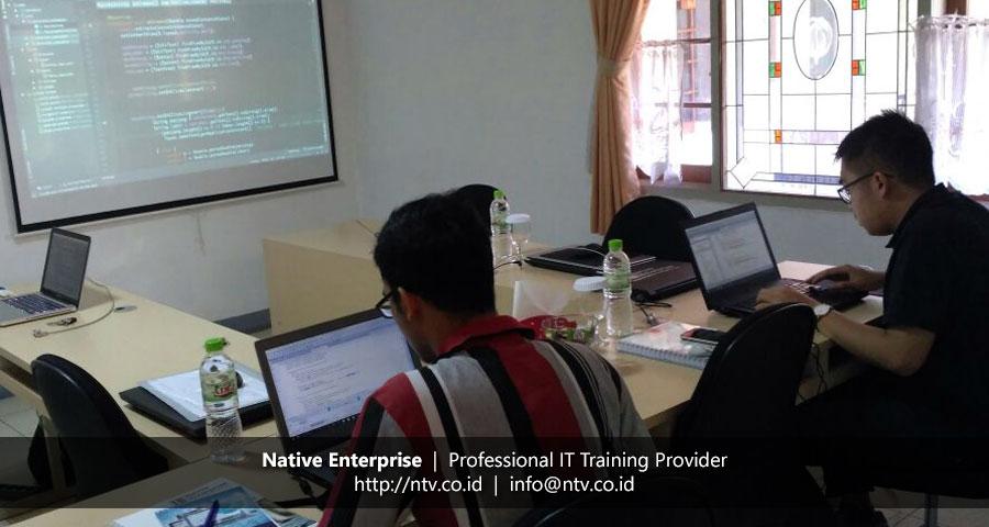 "Weekend Training ""Android Mobile App Development"" bersama Gandum Mas Kencana"