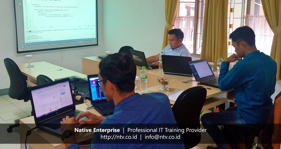 "Training ""Angular Web Application Development"" bersama Bank BJB"