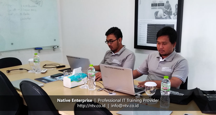 "Training ""Android Mobile App Development"" bersama Dinas Lingkungan Hidup Tangerang"
