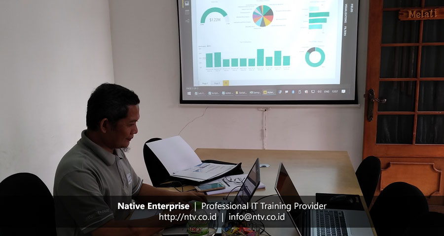"Training ""Power BI Data Analysis"" bersama Bank BNI"