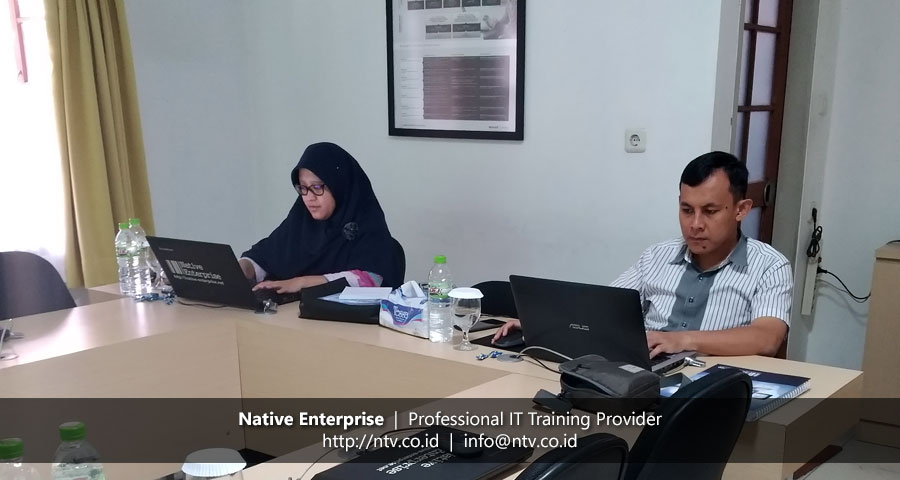 Training Windows Server Installation and Configuration bersama LEN Industri