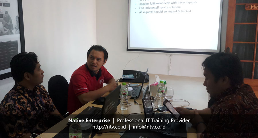 "Training ""IT Infrastructure Library Foundation"" bersama Dinas Informasi dan Komunikasi Pemkot Tangerang"