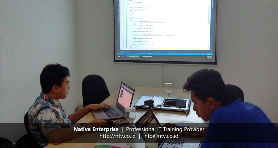 "Weekend Training ""Developing Web App using ASP.NET MVC"" bersama Gandum Mas Kencana"