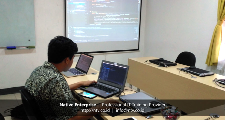 "Weekend Training ""Android Mobile App Development"" bersama Gandum Mas Kencana"