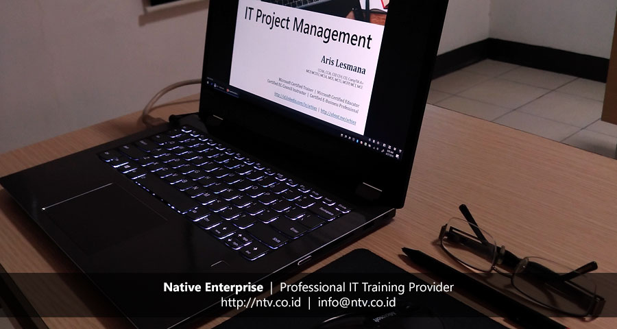 "Training ""IT Project Management"" bersama Penjaminan Infrastruktur Indonesia"