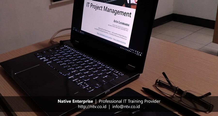 "Training ""IT Project Management"" bersama Penjaminan Infrastruktur Indonesia"