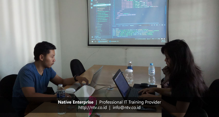 "Training ""Angular Web Application Development"" bersama UDrive"