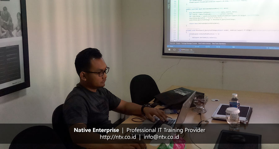 "Training ""Full Stack Xamarin Android and RESTful ASP.NET Web API"" bersama PT RAPP"
