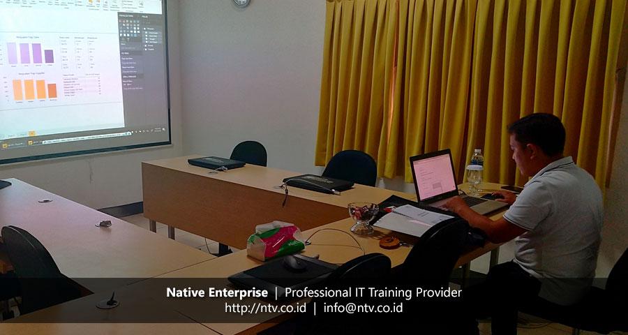 "Training ""Power BI for Business Users"" bersama DPKD Sijunjung Sumatera Barat"