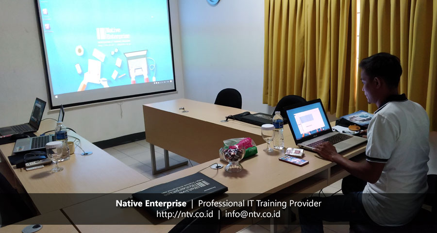 "Training ""Virtualization Essentials"" bersama DPKD Sijunjung Sumatera Barat"