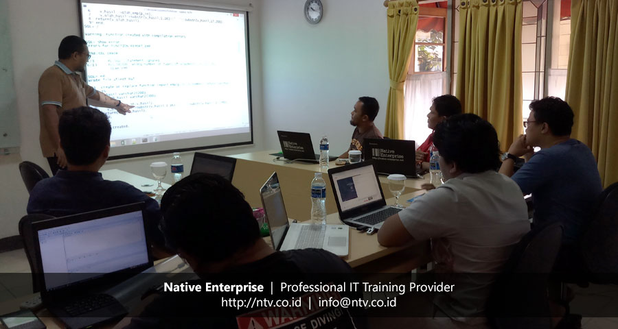 "Training ""Oracle Application Server"" bersama Disdukcapil Kota Tangerang"