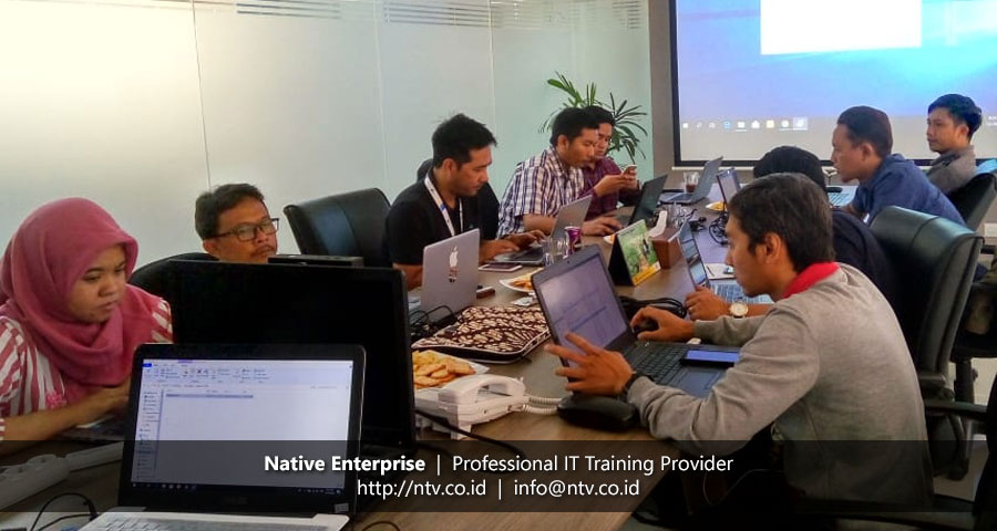 "In-House Training ""Team Foundation Server"" bersama Pamapersada Nusantara"