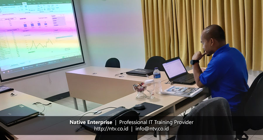 """Training """"Excel Dashboards and Reports"""" bersama PT Antam Tbk"""