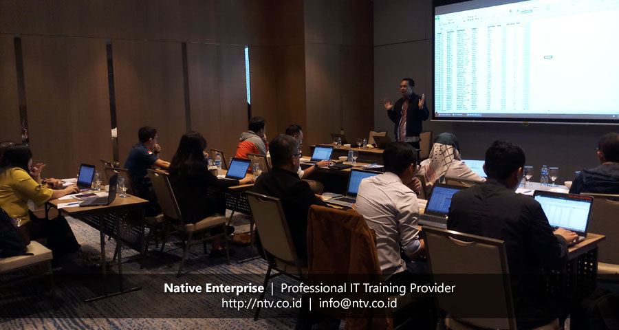 "Off-Site Training ""Excel Dashboards and Reports"" bersama Pertamina Geothermal Energy"