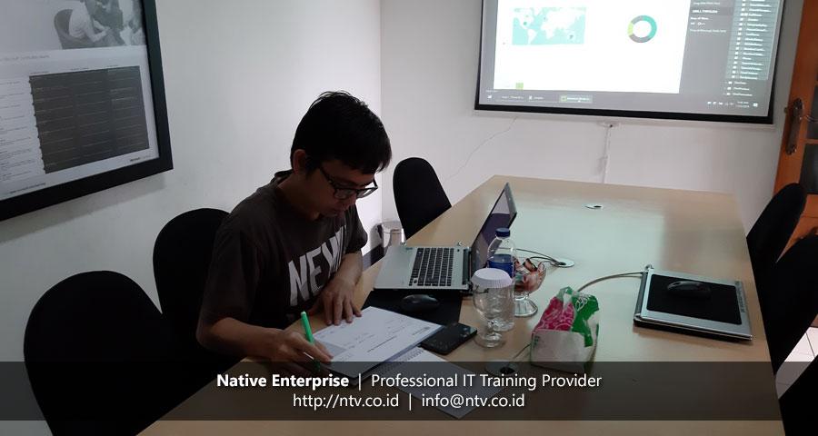 """Training """"Power BI for Business Users"""" bersama Bank Syariah Mandiri"""