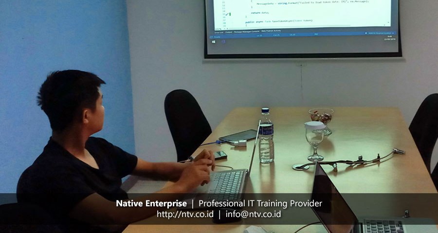"Training ""Mobile App Development using Xamarin Forms"" bersama GML Performance Consulting"