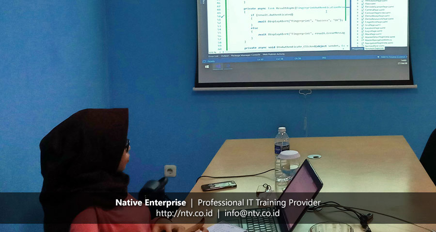 "Training ""Mobile App Development using Xamarin Forms"" bersama Yuwasis Mitra Integrasi"