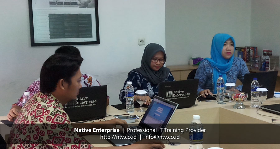 "Training ""Web Database App using PHP and MySQL"" bersama BKPSDM Kota Tangerang"