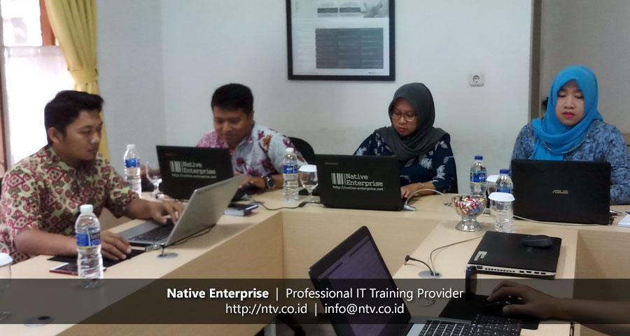 "Training ""Web Database App using PHP and MySQL"" bersama BKPSDM Kota Tangerang"
