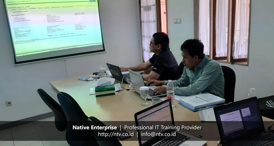 "Training ""Oracle Database Administrator I"" bersama Disdukcapil Kota Tangerang Selatan"
