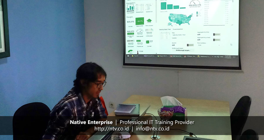 """Training """"SQL Server Reporting Services"""" bersama PT Preformed Line Products"""