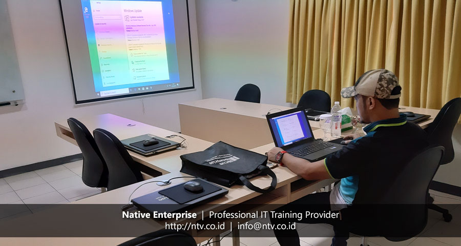 "Training ""Windows Client Installation and Configuration"" bersama Petrochina Indonesia"