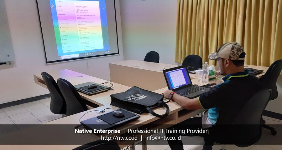 "Training ""Windows Client Installation and Configuration"" bersama Petrochina Indonesia"