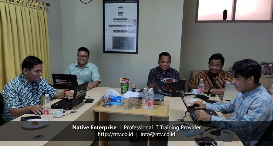 "Training ""Firewall Security"" bersama Disdukcapil Kota Tangerang"