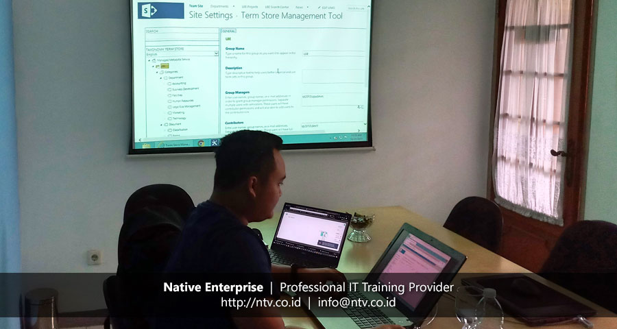 "Training ""SharePoint Administrator and Workflow Essentials"" bersama Genting Energy"